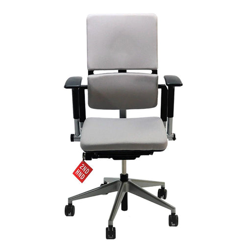 Steelcase Please V2 Chair New Grey  Fabric