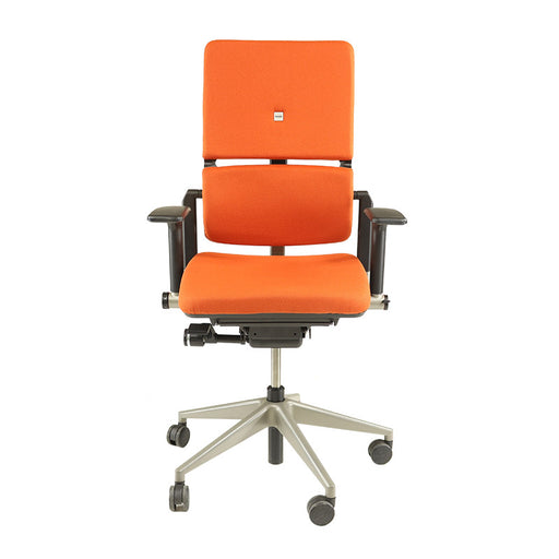 Steelcase Please V2 Chair New Orange Fabric