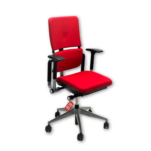 Steelcase Please V2 Chair New Red Fabric
