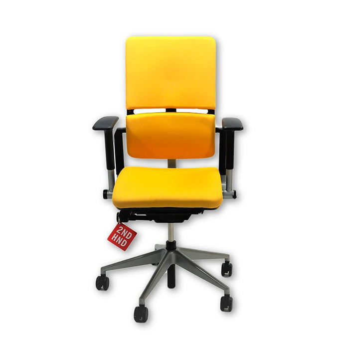 Steelcase Please V2 Chair New Yellow Fabric