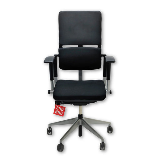 Steelcase Please V2 New Black Fabric chair