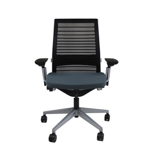 Steelcase Think V2 Metallic Grey in Grey Fabric