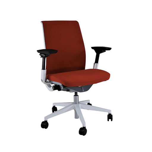 Steelcase Think V2 in Red Fabric (Brand New Chair)