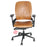 Steelcase Leap V2 chair in new tan leather