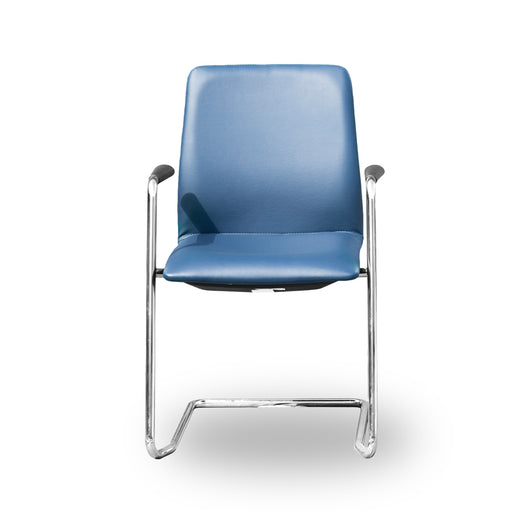 Sven - Blue Leather Chair