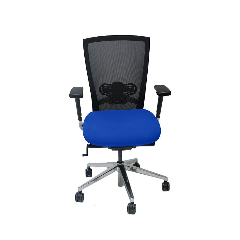 Techo Sidiz T50 Mesh Back with New Blue Fabric