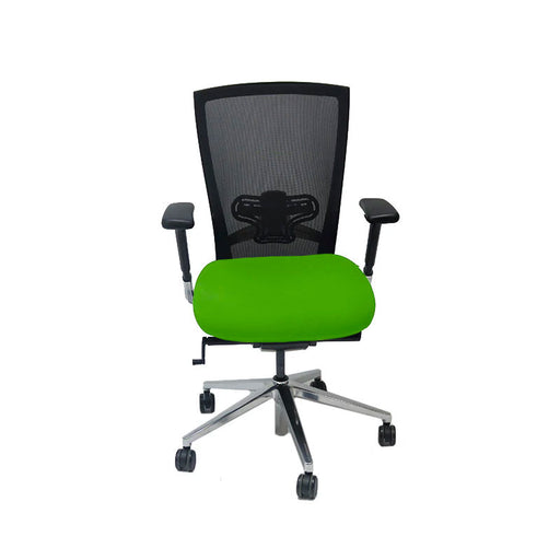 Techo Sidiz T50 Mesh Back with New Green Fabric