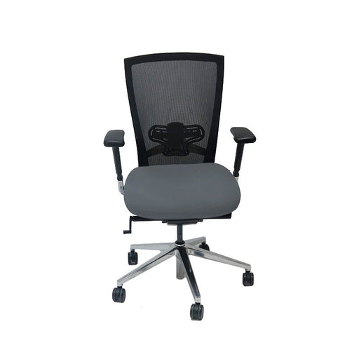 Techo Sidiz T50 Mesh Back with New Grey Fabric