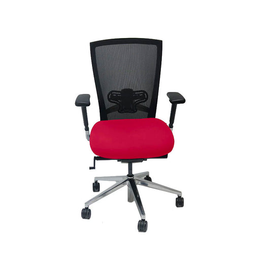 Techo Sidiz T50 Mesh Back with New Red Fabric