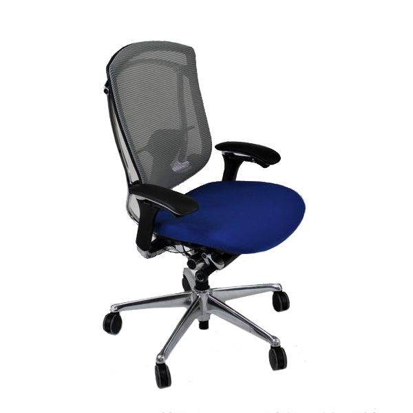 Teknion Contessa new Blue fabric seat