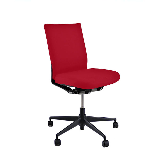 Vitra Axess No Arms in New Red Fabric