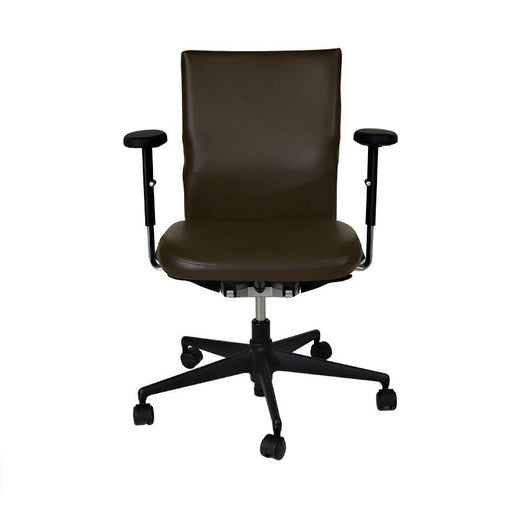 Vitra Axess in Brown Leather