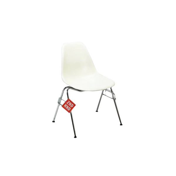 Vitra Eames DSS stacking chair White