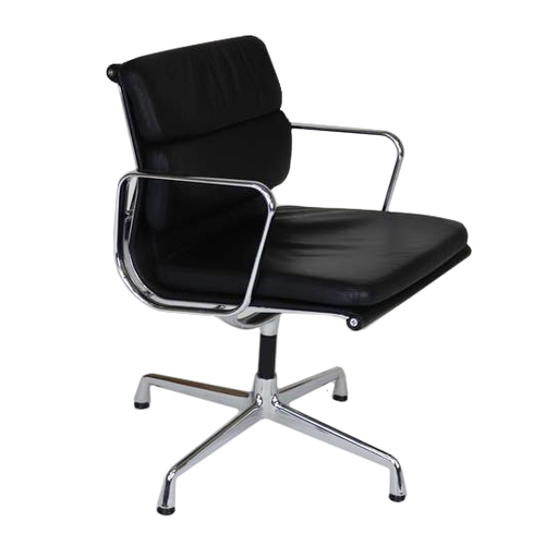 Vitra eames EA208 Black Leather Original