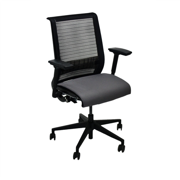 Steelcase Think Office Chair in New Grey Fabric