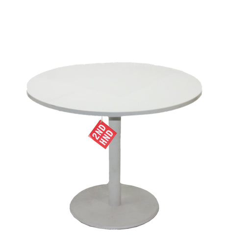 Steelcase 900mm Round Table with Steel Centre Stand