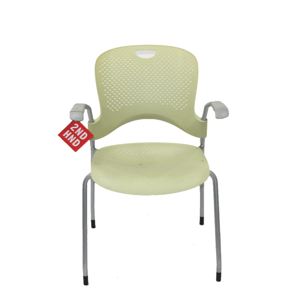 Caper Stacking Chair Herman Miller Official Store - Herman miller caper stacking yellow arm chair
