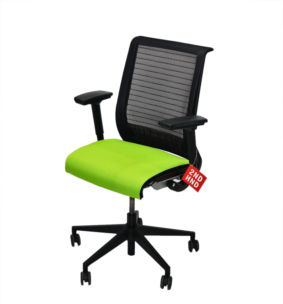 Steelcase Think Office Chair in New Green Fabric