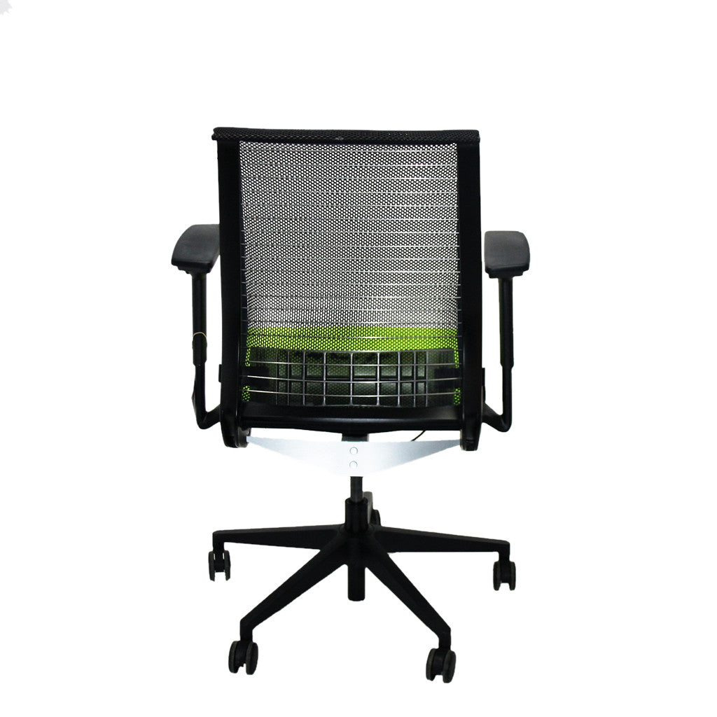 ... Steelcase Think Office Chair in New Green Fabric ...  sc 1 st  2ndhnd.com & Steelcase Think Office Chair in New Green Fabric u2013 2ndhnd.com ...