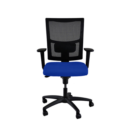 New ERGO Chair with Blue Seat
