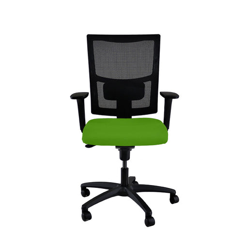 New ERGO Chair with Green Seat