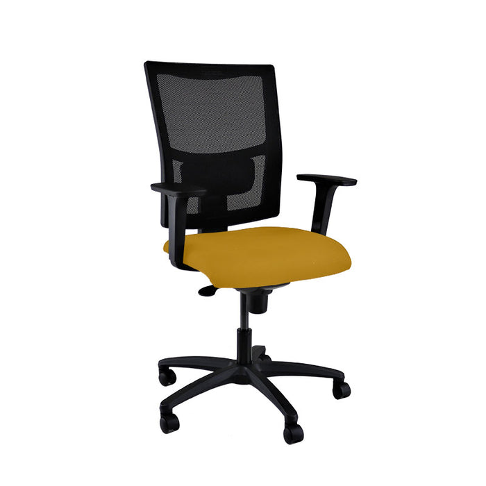 New ERGO Chair with Yellow Seat