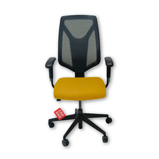 Global 1966 Task Chair with Yellow Seat ( New Chair)