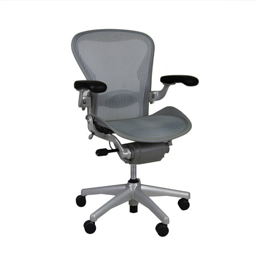 Herman Miller Aeron Chair - Size B Grey Frame