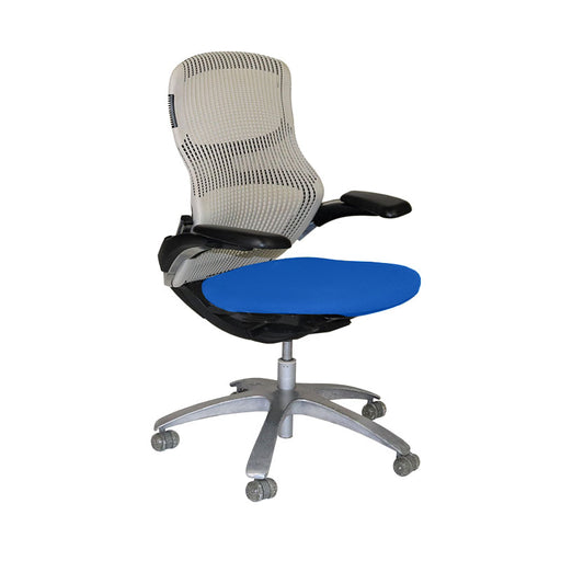 Knoll Generation Office Chair with Blue Seat