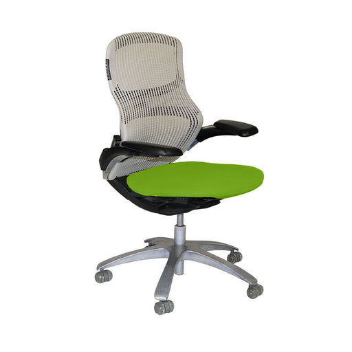 Knoll Generation Office Chair with Green Seat