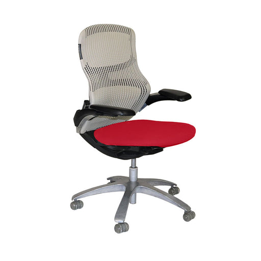 Knoll Generation Office Chair with Red Seat