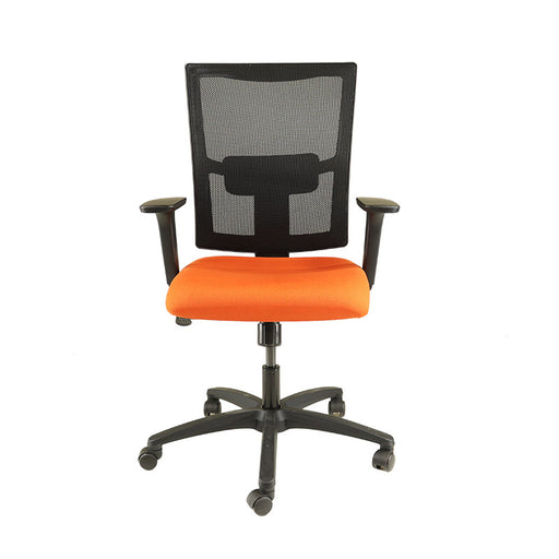 New ERGO Chair with Orange Seat