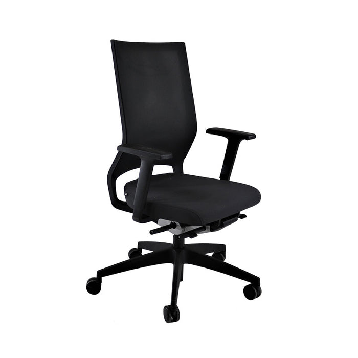 Sedus Quarterback Office Chair in New Black Fabric