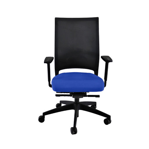 Sedus Quarterback Office Chair in New Blue Fabric