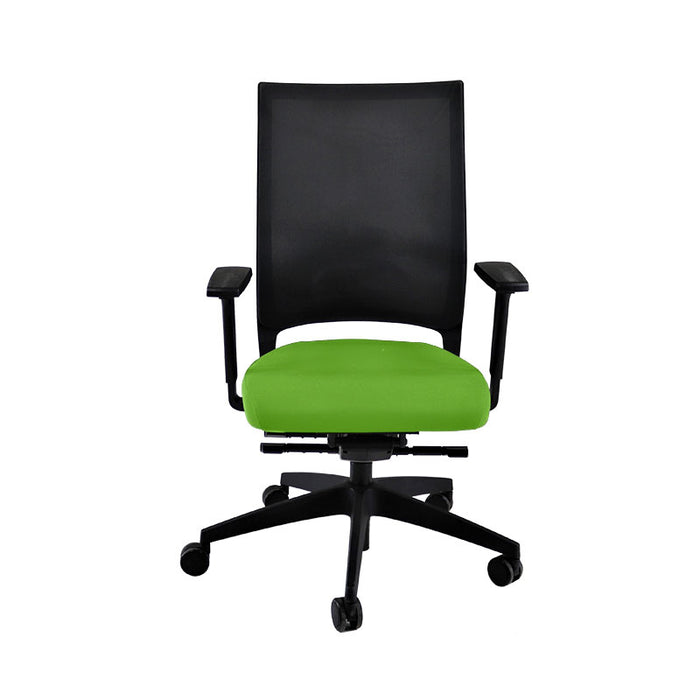 Sedus Quarterback Office Chair in New Green Fabric