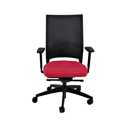 Sedus Quarterback Office Chair in New Red Fabric