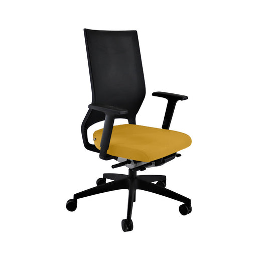Sedus Quarterback Office Chair in New Yellow Fabric