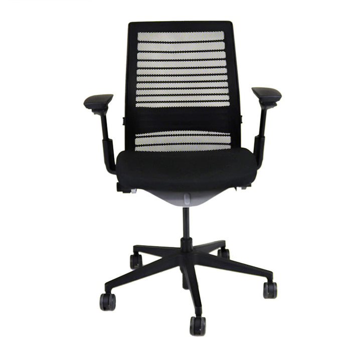 Steelcase Think V2 in Original Black Fabric