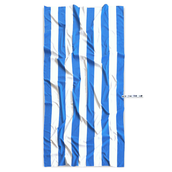 WACi XL— French Blue Cabana Stripes