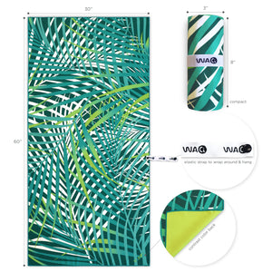 WACi Beach — Tropical Leaves