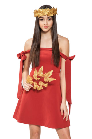 Another World Dress - Keepsake - Shop Fourmi  - Dress Like A Woman - Graduation Dress - Simply Dresses - Strapless - Fit And Flare Dress