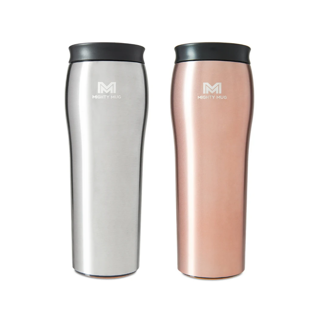 Mighty Mug Go Silver & Rose Gold- LP