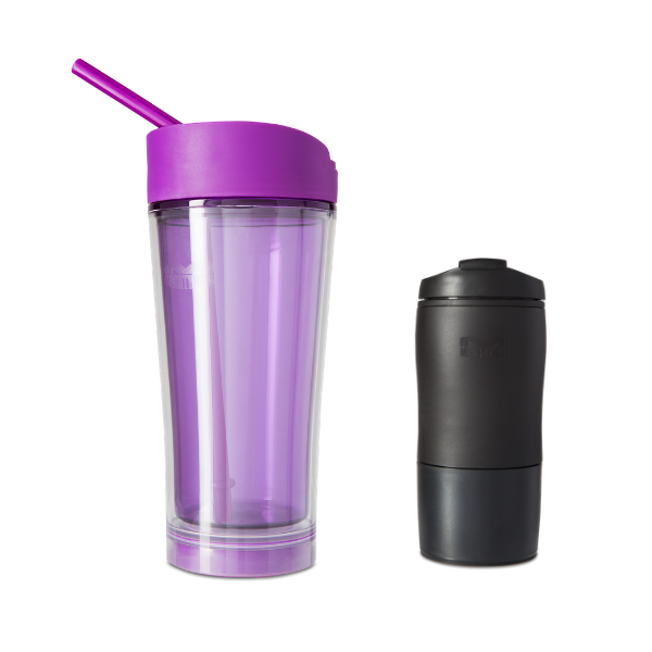 Mighty Mug Ice: Purple & Mighty Mug Black Mini BOGO LP