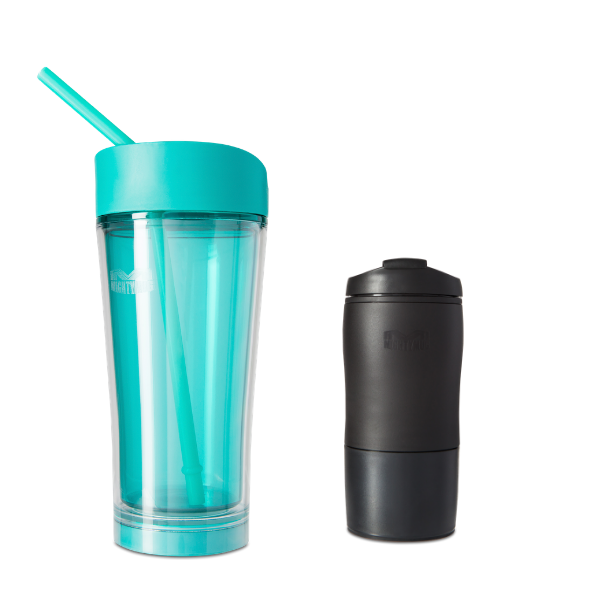Mighty Mug Ice: Teal & Mighty Mug Black Mini BOGO LP
