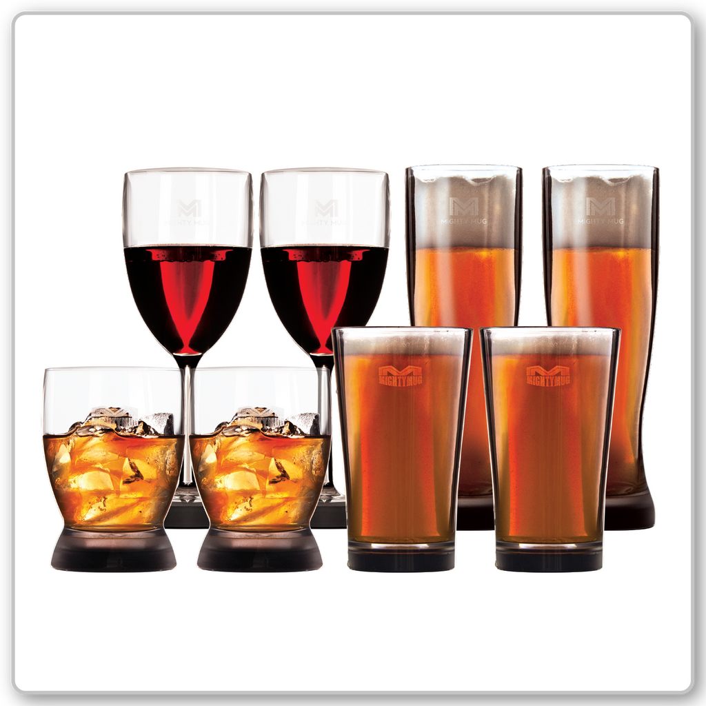 Buy 3 Sets, Get 1 Set Free - DOF, Wine,Pint, & Pilsner
