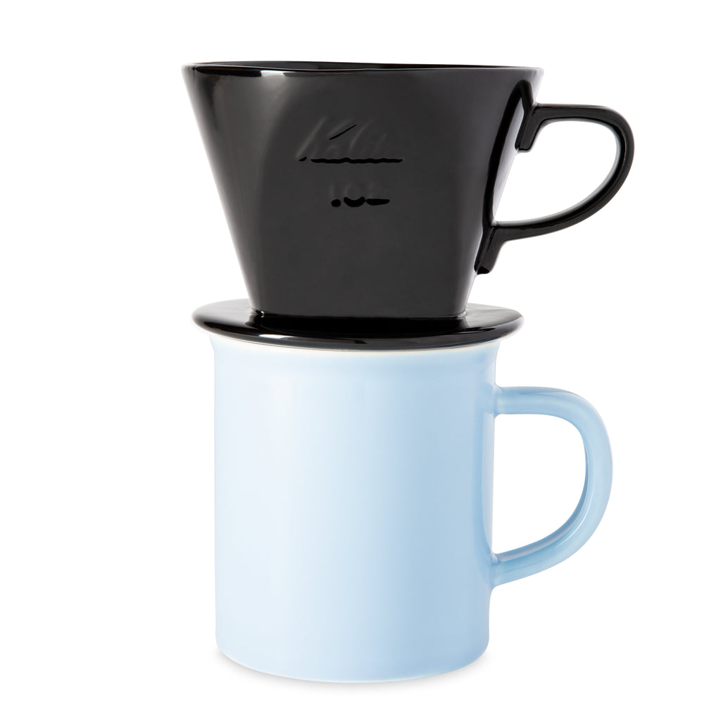 Pour Over Coffee Dripper - Black