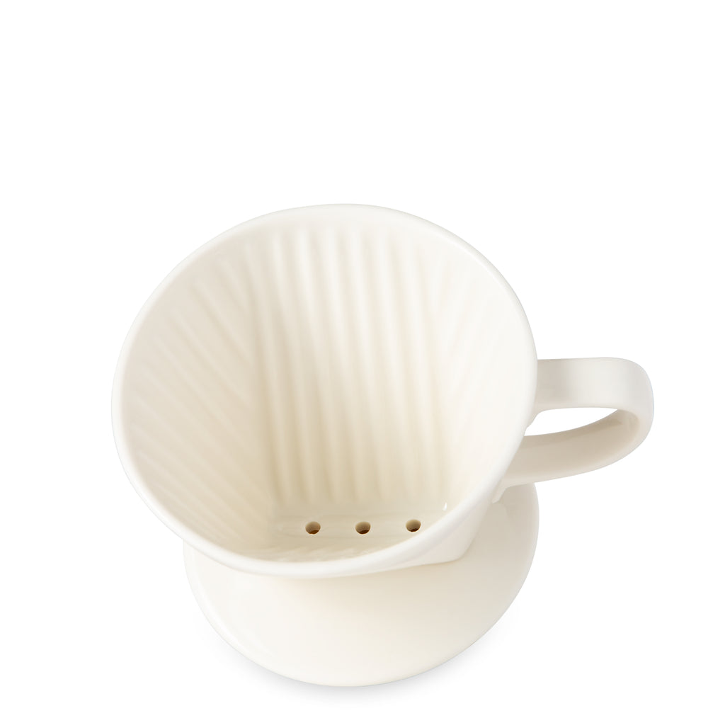 Pour Over Coffee Dripper - White