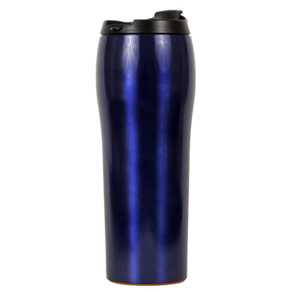 Mighty Mug Go - Stainless Steel Blue