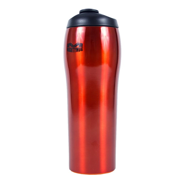 Mighty Mug Go SS - Stainless Steel Red