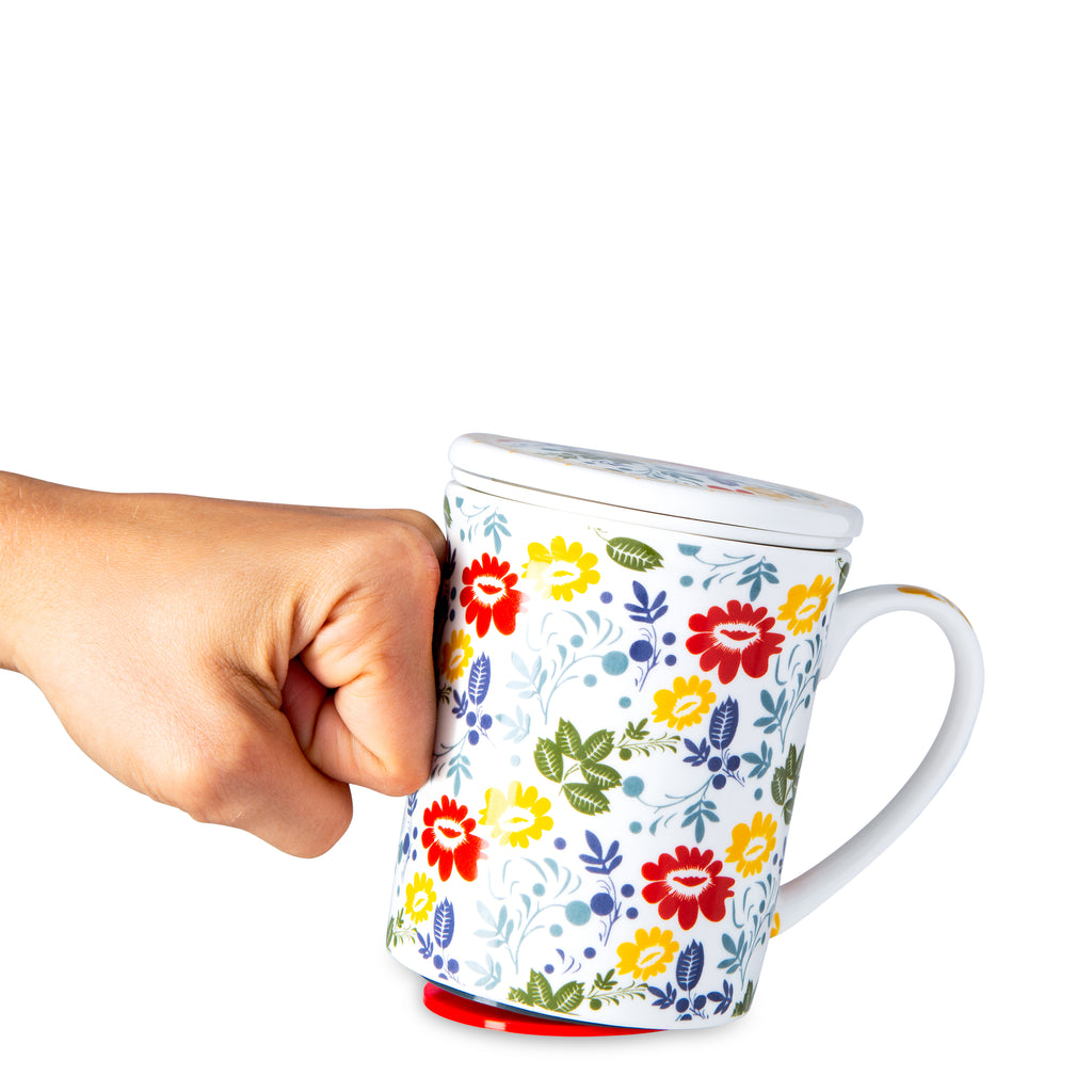 Mighty Mug Ceramic 12 oz : Spring